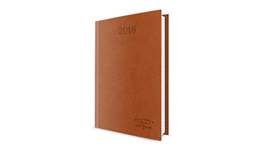 Faktoriawin | Kalendarz książkowy VIVO z tłoczeniem logo