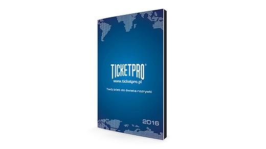 Ticketpro | Kalendarz książkowy SPIRALOWANY PREMIUM