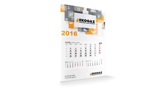 Kalendarz jednodzielny STANDARD