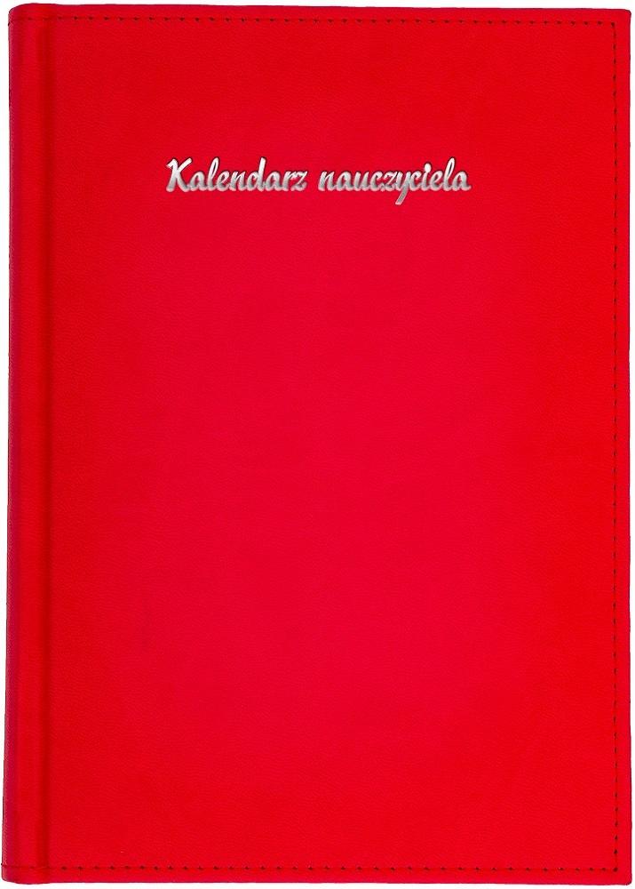 Kalendarz nauczyciela A5 tygodniowy | Vivella - czerwony