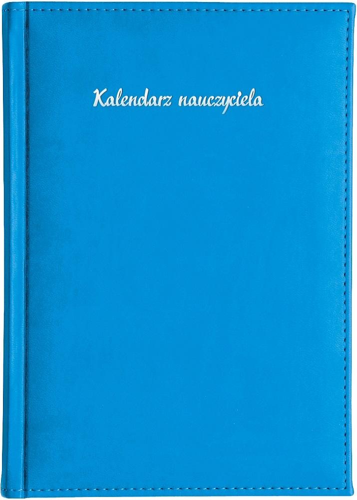 Kalendarz nauczyciela A5 tygodniowy | Vivella - niebieski
