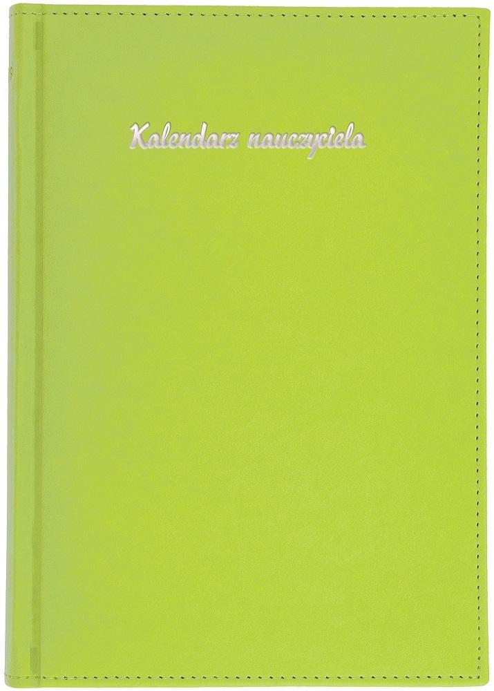 Kalendarz nauczyciela A5 tygodniowy | Vivella - seledynowy